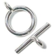 Clasps Rhodium Plated