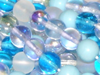Serenity 4mm Round Bead Mix x100