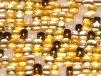 Honey Butter 8/0 Czech Seed Bead Mix