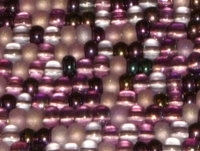 Lilac/Amethyst 11/0 Czech Seed Bead Mix