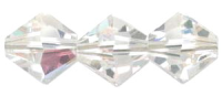 Crystal Clear 3mm Xilion Bicone 5328 Swarovski Crystal x 20