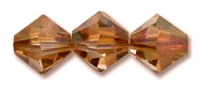 Crystal Copper 6mm Bicone 5328 Swarovksi Crystal x10