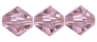 Light Amethyst 6mm Bicone 5328 Swarovski Crystal x10