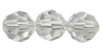 Crystal Clear 4mm Round Bead Swarovski Crystal x10