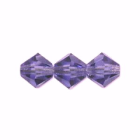 6mm Tanzanite Preciosa Crystal Bicone x 72