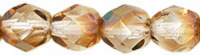 Crystal Celsian 6mm Czech Fire-polish Bead x25