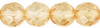 Champagne Lustre 6mm Czech Fire-polish Bead x25