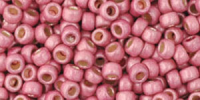 Rose Matt 8/0 Permanent Metallic Toho Seed Bead 10g
