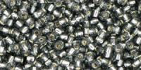 Black Diamond Silver Lined 11/0 Toho Seed Bead 10g