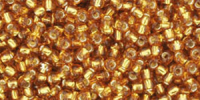 Light Gold Silver Lined 11/0 Toho Seed Bead 10g