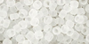 Crystal Frosted 8/0 Toho Seed Bead 10g