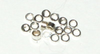 1x2mm  Crimp Tube Sterling Silver x10