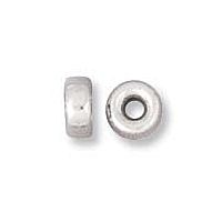 Spacer Bead 3x2mm Sterling Silver x10