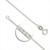 "16"" (41cm) Heavy Trace Chain Sterling Silver x1"