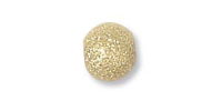 4mm Stardust Bead 14ct Gold Filled x1