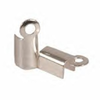 Fold Over End Clasp Silver Plated x20