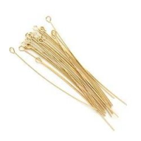 Eye Pin (50x0.7mm) Gold Plated x 144