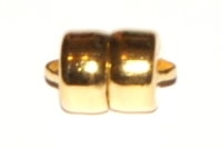 Heavy Duty Magnetic Clasp Gold Plated x 1