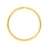 25mm Split Ring Gold Plated x1