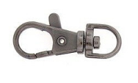 Bag Clip 38mm Gunmetal Plated x1