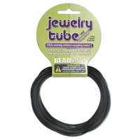 Hollow Rubber Tubing Black 2mm x 5yards