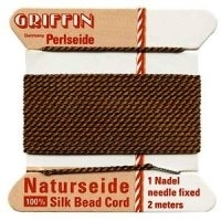 Brown Griffin Silk Cord (0.5mm) Size 3