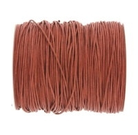 0.6mm Mid Brown Cotton Cord x 1 yard