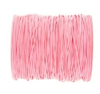 0.6mm Pink Cotton Cord x 1 yard