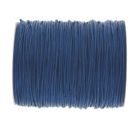 0.6mm Dark Blue Cotton Cord x 1 yard