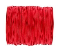 0.6mm Red Cotton Cord x 1 yard