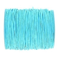 0.6mm Aqua Cotton Cord x 1 yard