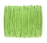 0.6mm Lime Green Cotton Cord x 1 yard
