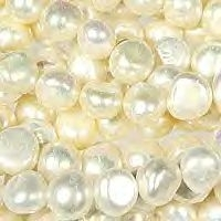 6-7mm Natural White Fresh Water Pearls x 35cm