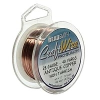 0.32mm Non-Tarnish Antique Copper Plated Wire x 1