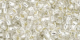 Crystal Silver Lined 8/0 Toho Seed Bead 250g