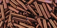 Antique Copper 9mm Toho Bugle Tubes 10g