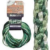 Evergreen 2mm Rattail Cord Mix