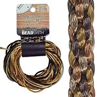Wheatberry 2mm Rattail Cord Mix