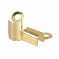 Cord End/Box Closure Gold Plated x 20