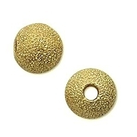Stardust 3mm Round Gold Plated Bead x 40