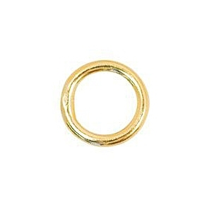 5mm Closed Jump Ring  Gold Filled x 2