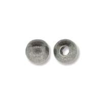 Antique Silver Plated 4mm Round Bead x 144