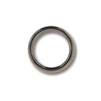 Gunmetal Plated 8mm Open Jump Ring x 24