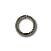 Gunmetal Plated 7mm Open Jump Ring x 24