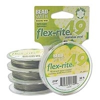 "49 Strand .018""  Clear Flex-rite 30 feet"